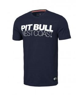 Koszulka Pit Bull Slim Fit TNT granatowa