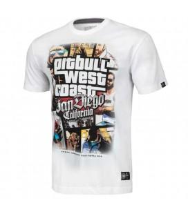 Koszulka Pit Bull West Coast model Most Wanted biała