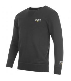 Bluza Everlast bez kaptura crewneck kolor czarny