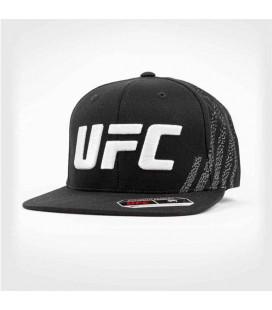 Czapka z daszkiem UFC Venum Authentic Fight Night czarno biała