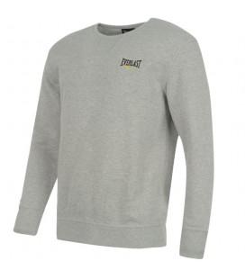 Bluza Everlast bez kaptura crewneck kolor szary melanż