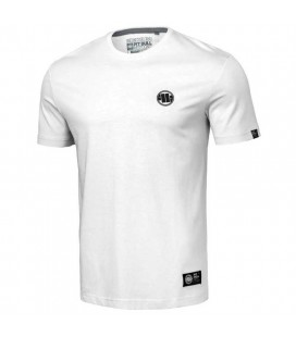 Koszulka Pit Bull model Small Logo 2021 biała