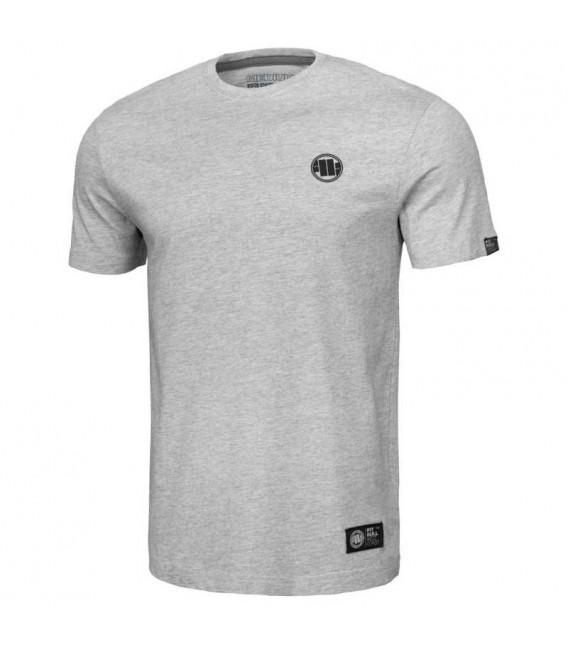 Koszulka Pit Bull West Coast model Small Logo grey melange