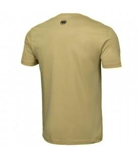 Koszulka Pit Bull Garment Washed Bare-Knuckle kolor piaskowy