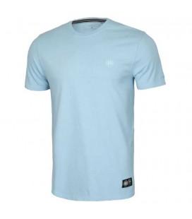 Koszulka Pit Bull Garment Washed Small Logo kolor jasny niebieski