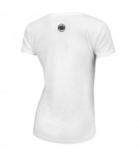 Koszulka damska Pit Bull West Coast model Classic Boxing biała