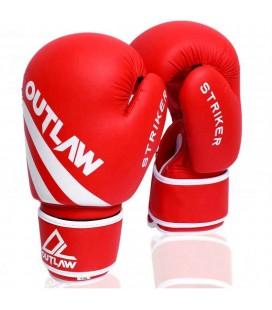 Rękawice bokserskie Striker Outlaw czerwone