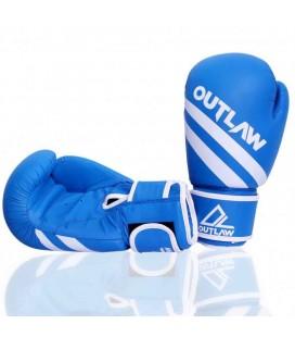 Rękawice bokserskie Striker Outlaw kolor niebieski