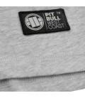Koszulka Pit Bull Longsleeve z kapturem Reglan Small Logo kolor szaro granatowy