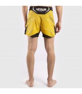 Spodenki treningowe UFC Venum Pro Line kolor żółty