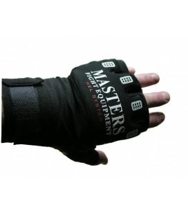 Bandaże bokserskie żelowe Masters kolor czarny