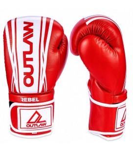 Rękawice bokserskie Rebel Outlaw czerwone