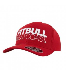 Czapka Pit Bull Snapback SEASCAPE czerwona
