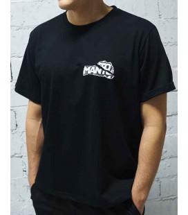 Koszulka MANTO model THORN kolor czarny