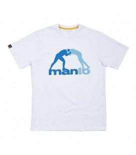 Koszulka Manto model DUO OCEAN biała