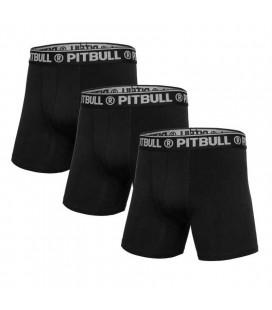 Bokserki Pit Bull West Coast 3- pak czarne