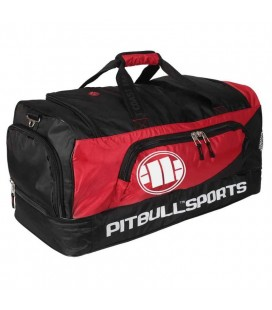 Torba Treningowa Pit Bull Sports czarno czerwona