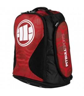 Plecak/ torba Pit Bull treningowy średni Logo czerwony