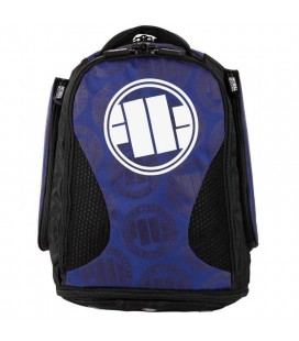 Plecak / torba Pit Bull treningowy średni Logo niebieski