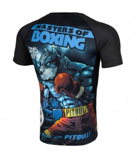 Rashguard Pit Bull model Master of Boxing Performance Pro+