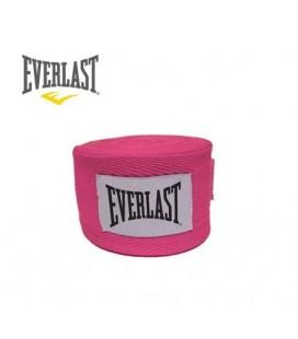 Bandaże bokserskie 2,75 m Everlast różowe bawełna para