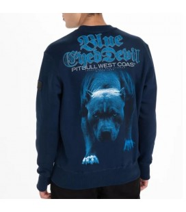 Bluza Pit Bull model BLUE EYED DEVIL 21 granatowa