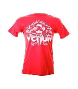"""Koszulka Venum """"Muay Thai Champion"""" T shirt  Czerwona"""