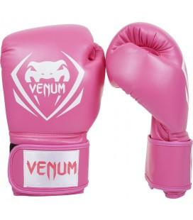 Rękawice bokserskie Venum model Contender kolor różowy