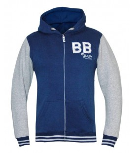 Bluza rozpinana z kapturem Bad Boy model Varsity