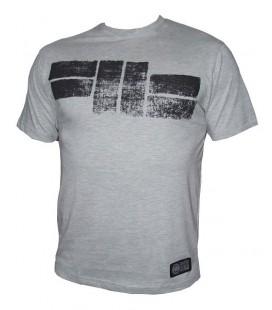 Koszulka Pit Bull West Coast model Logo szary melanż