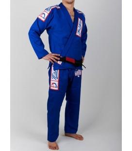 Kimono MANTO GI BJJ model 5.0 kolor niebieski