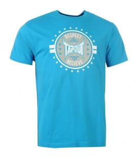 Koszulka Tapout model Circle of Respect kolor niebieski