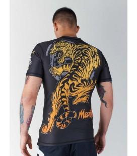 Rashguard Manto model Tiger krótki rękaw czarny