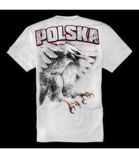 Koszulka Pit Bull West Coast model KSW 33 Eagle biała