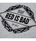 Bluza Red is Bad model Emblemat Reglan