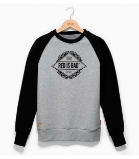 Bluza  Red is Bad model Emblemat Reglan