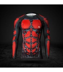 Rashguard Red is Bad Symbio CZ-XG-15 8-panelowy dr