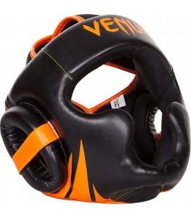 """Kask sparingowy  Venum """"Challenger 2.0"""" czarno pomarańczowy"""
