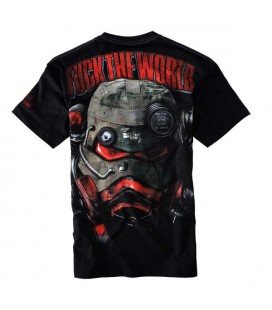 Koszulka Pit Bull West Coast model FUCK THE WORLD 16