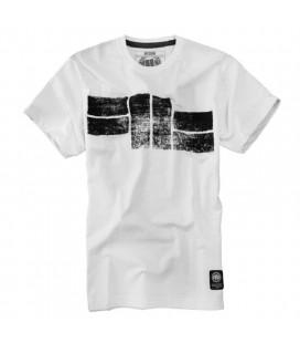 Koszulka Pit Bull West Coast model Basic  Logo 16 biała