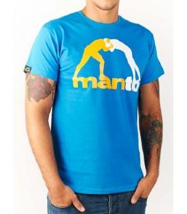 Koszulka Manto model CLASSIC niebieska