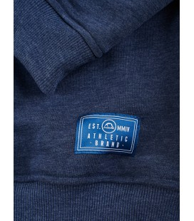 Bluza MANTO model Classic granatowy melanż