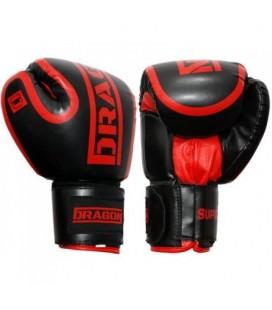 Rękawice bokserskie SUPERB firmy Dragon kolor czarny