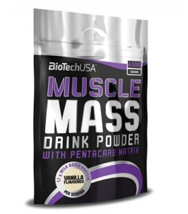 BioTech USA Muscle Mass 1000g