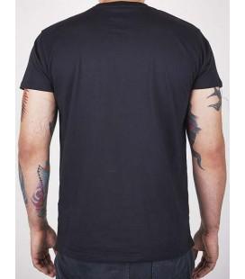 Koszulka Manto model LOGO VIBE  czarna