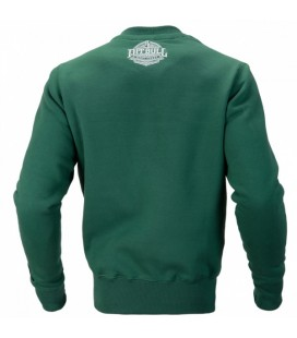 Bluza Pit Bull bez kaptura model FAST kolor zielony