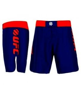 Spodenki do walk UFC kolor niebiesko-czerwony