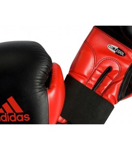 Rękawice bokserskie marki Adidas skóra naturalna/pu3g