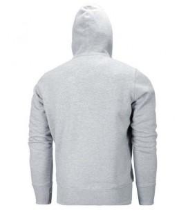 Bluza rozpinana z kapturem Pit Bull  model Small Logo 2016 szara