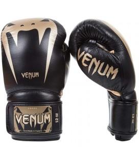 "Rękawice bokserskie Venum model ""GIANT 3.0"" Black gold"